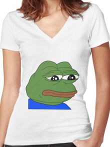 Pepe Women's Fitted V-Neck T-Shirt