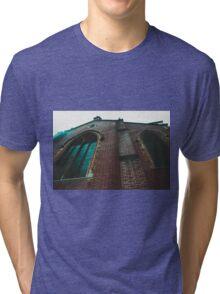 Church photo design by LUCILLE Tri-blend T-Shirt