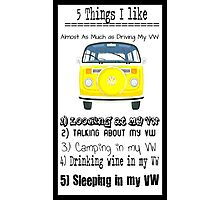 Five Good Things Photographic Print