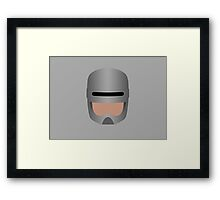 RoboCop Helmet Framed Print