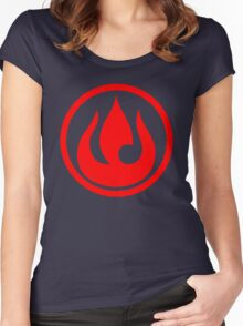 fire nation avatar Women's Fitted Scoop T-Shirt