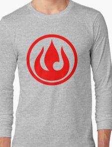 fire nation avatar Long Sleeve T-Shirt