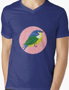 Little bird Mens V-Neck T-Shirt