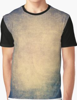 Blue and orange romantic grungy background texture with scratches Graphic T-Shirt