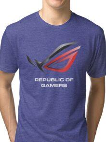 asus republic of gamers Tri-blend T-Shirt