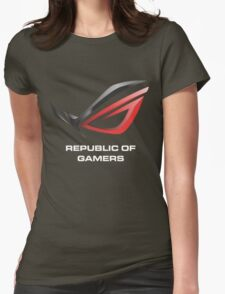 asus republic of gamers Womens Fitted T-Shirt