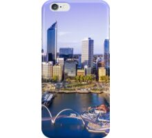 Perth City Skyline - Aerial Panorama iPhone Case/Skin