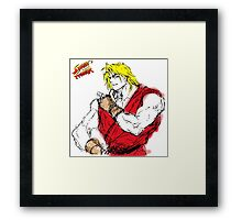 Streetfighter Ken Framed Print