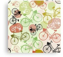 Ride a bike Metal Print