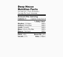 Deep House | Nutrition Facts  Unisex T-Shirt
