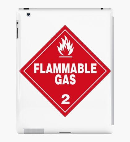 Flammable gas iPad Case/Skin