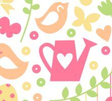 Spring cartoon print Sticker