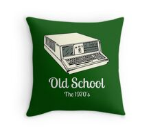 Computer Geek Throw Pillow