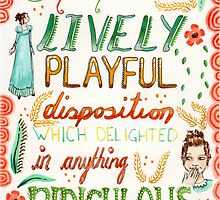 Jane Austen - Pride and Prejudice - Quote by Purrr