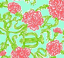 Lilly Pulitzer Alpha Chi Omega by Luted1978