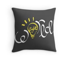 Light of the World 2 Throw Pillow