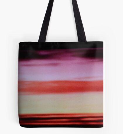 Sunset cloud bands Tote Bag