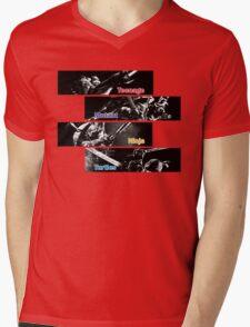 Teenage Mutant Ninja Turtles Out Of The Shadows Mens V-Neck T-Shirt