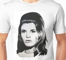 Katharine Ross The Graduate Chalk Drawing Unisex T-Shirt