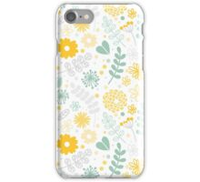 Funny floral pattern iPhone Case/Skin
