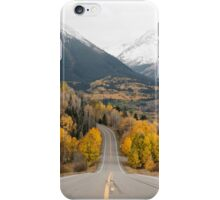 Wilderness Road, Mountains and Forest iPhone Case/Skin