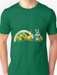Easter Bunny With Eggs T-Shirt