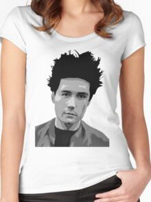Dan Smith (Bastille) Painting Tee Women's Fitted Scoop T-Shirt