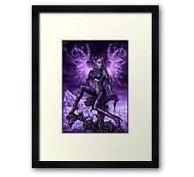 Energy wings Framed Print