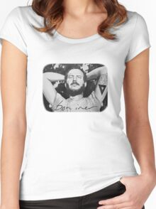 Bon Iver/Justin Vernon Painting Women's Fitted Scoop T-Shirt