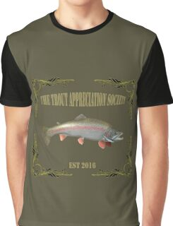 Trout Appreciation Society  Graphic T-Shirt