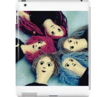 Fine Felt Friends iPad Case/Skin