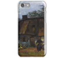 Vincent Van Gogh - Farmhouse in Nuenen, 1885 iPhone Case/Skin