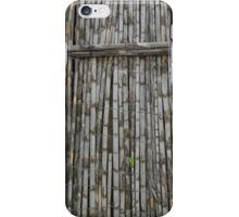 Bamboo and Barbed Wire Fence iPhone Case/Skin