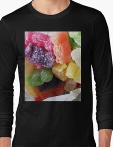 Jelly Babies in a white paper bag Long Sleeve T-Shirt