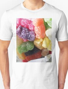 Jelly Babies in a white paper bag Unisex T-Shirt