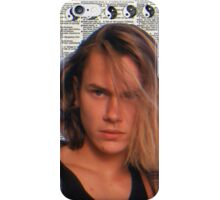 River Phoenix (Dictionary Paper) iPhone Case/Skin