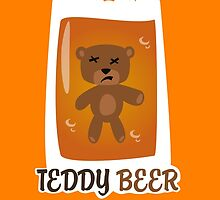 Teddy beer by infini
