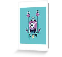 Flying Icecream Greeting Card