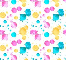 Colored blots by sherbynka