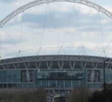 Wembley Stadium Sticker
