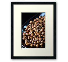 Coriander Seed Framed Print