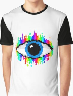 Eye of Endless Colour Graphic T-Shirt