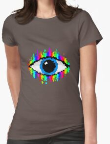 Eye of Endless Colour Womens Fitted T-Shirt