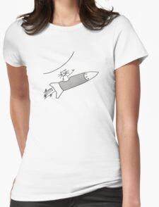 Beat Happening Womens Fitted T-Shirt