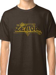 The Legend of Zelda - Classic Logo (Worn) Classic T-Shirt