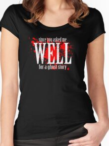 WELL... Women's Fitted Scoop T-Shirt