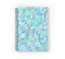 Colorful fish scale pattern Spiral Notebook