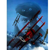 The Red Baron Photographic Print
