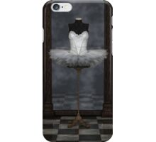White Classical Ballet Tutu Reflections iPhone Case/Skin