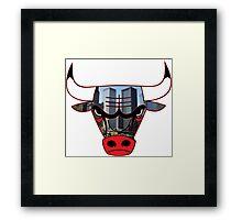 Bulls 3 Framed Print